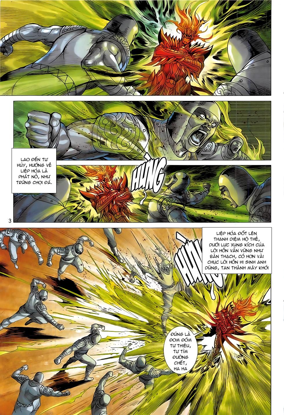Chiến Phổ chapter 17: chiến thần phẫn nộ trang 3