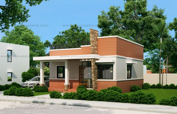 Small And Simple But Beautiful House With Roof Deck Designs For Houses Concept One Storey