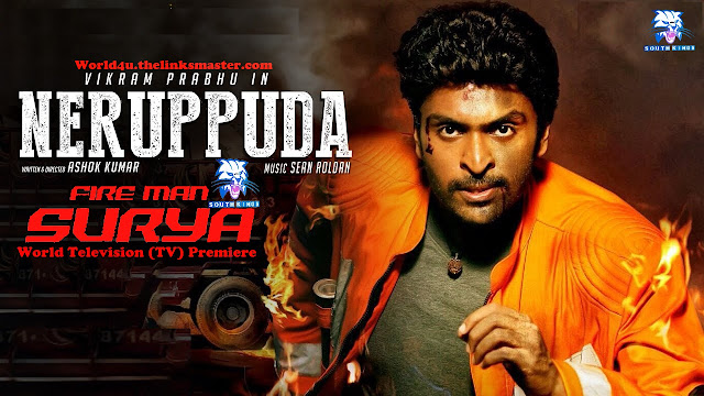 Fire Man Surya (NeruppuDa) Hindi Dubbed 720p HDRip Full Movie Download  desiremovies world4ufree, worldfree4u,7starhd, 7starhd.info,9kmovies,9xfilms.org 300mbdownload.me,9xmovies.net, Bollywood,Tollywood,Torrent, Utorrent