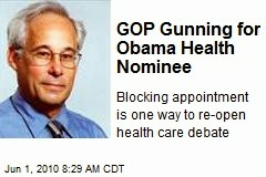 picture of man with capture Gop gunning for obama care