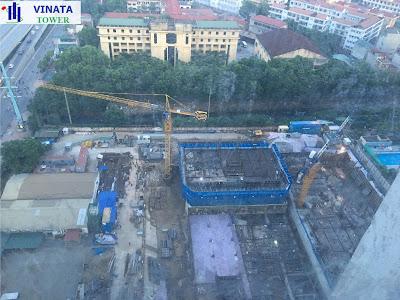 Cập nhật tiến độ dự án Vinata Tower