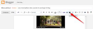 cara menampilkan video youtube ke postingan di bloge