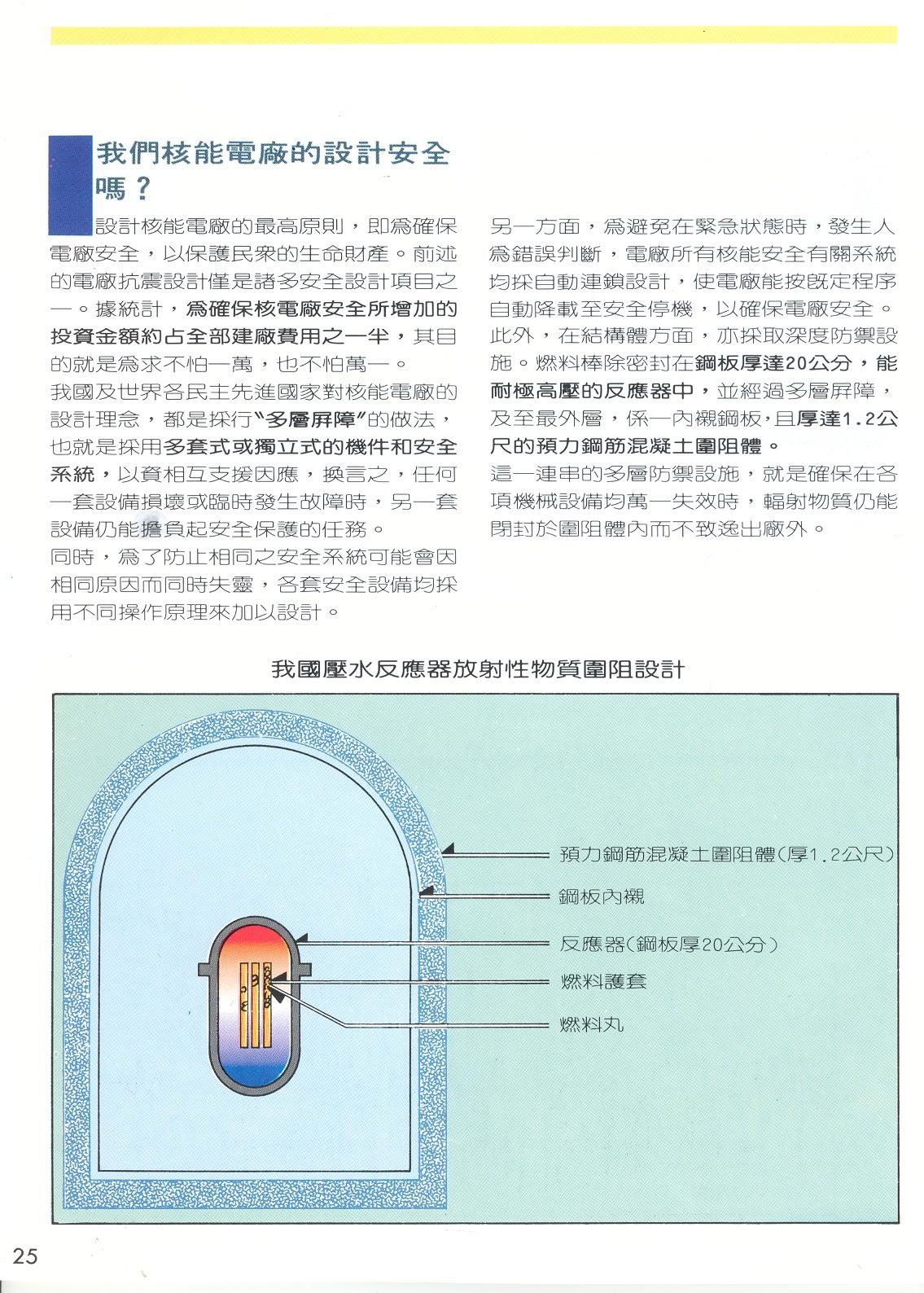 臺灣能源: 安全設計/三浬島/車諾堡