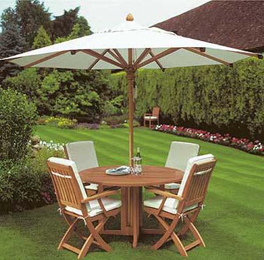 set meja payung minimalis