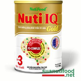 Sữa Nuti IQ Gold mới
