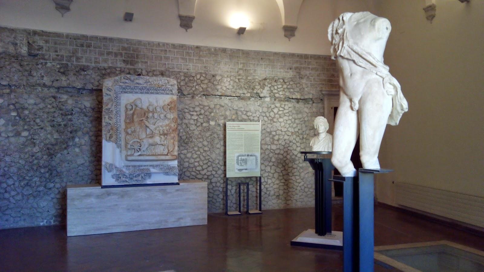 Maravilhosos ambientes do Museu de Palestrina