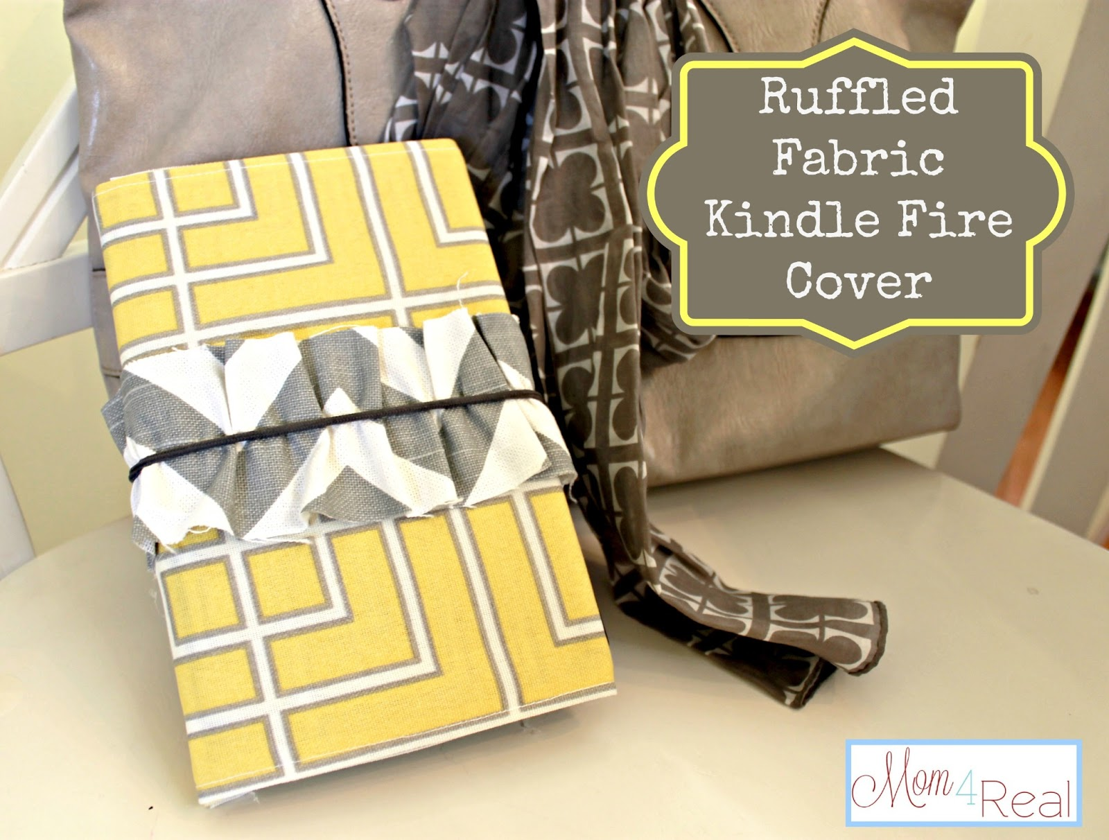 DIY Kindle Fire Cover - The Girl Creative