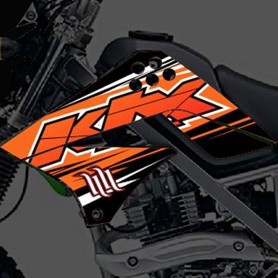 KLX Orange Blast