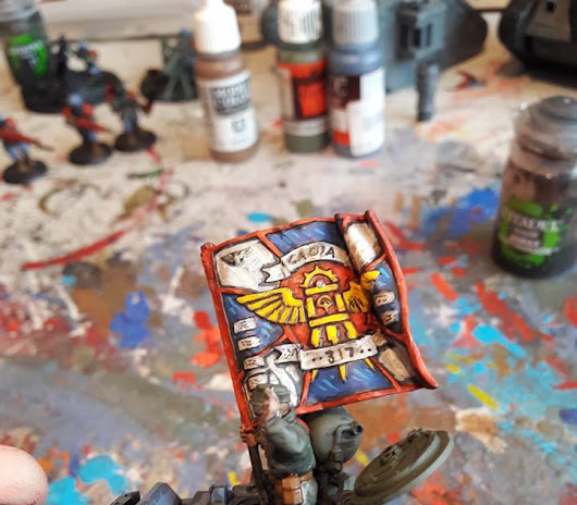 Imperial Guard Tank Commander WIP