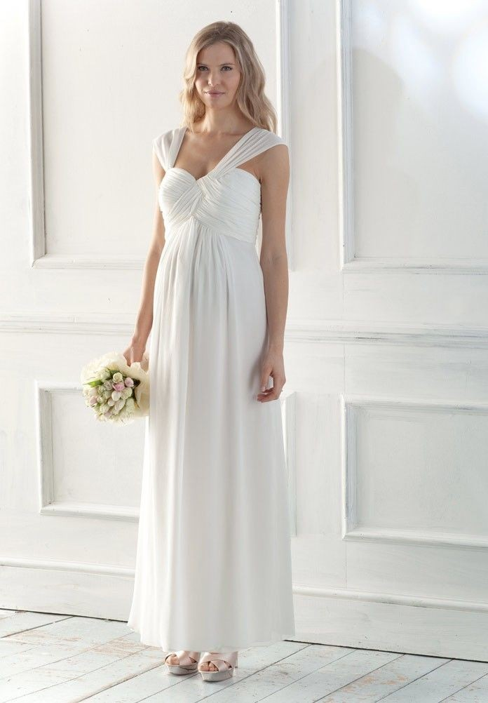 WhiteAzalea Maternity Dresses: Elegant Long Maternity Dresses