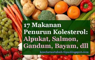 Makanan Penurun Kolesterol: Alpukat, Salmon, Gandum, Bayam, dll