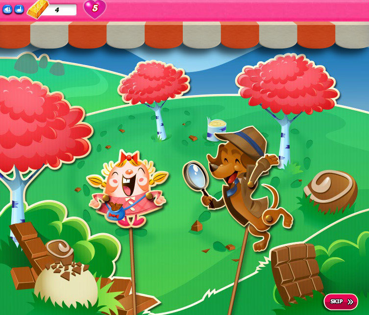 Candy Crush Saga level 2061-2075