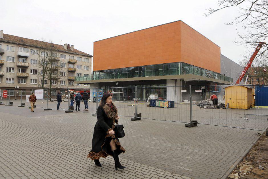 Vaiva работы и реконструкция нового здания 2015