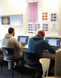 Learners in the training room