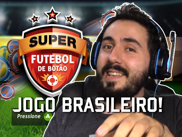 Super Button Soccer Game Brasileiro