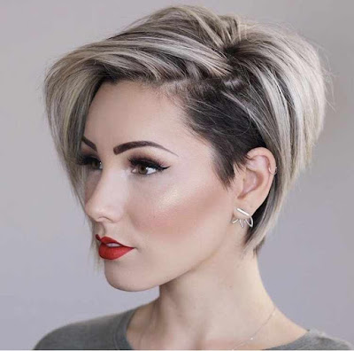 latest trendy short hairstyles for women 2019