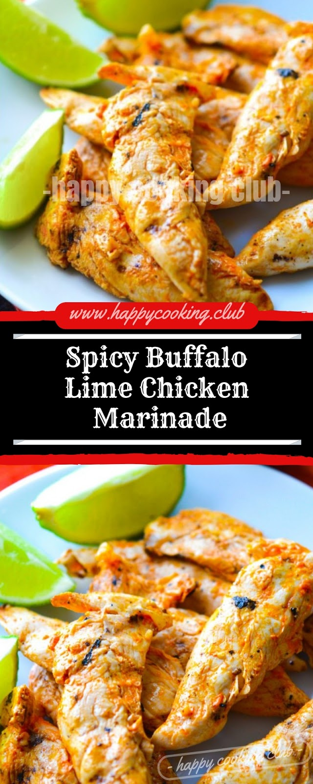 Spicy Buffalo Lime Chicken Marinade
