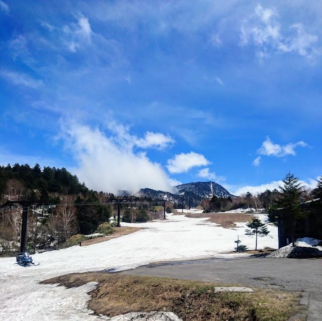 志賀草津高原ルート 横手山スキー場