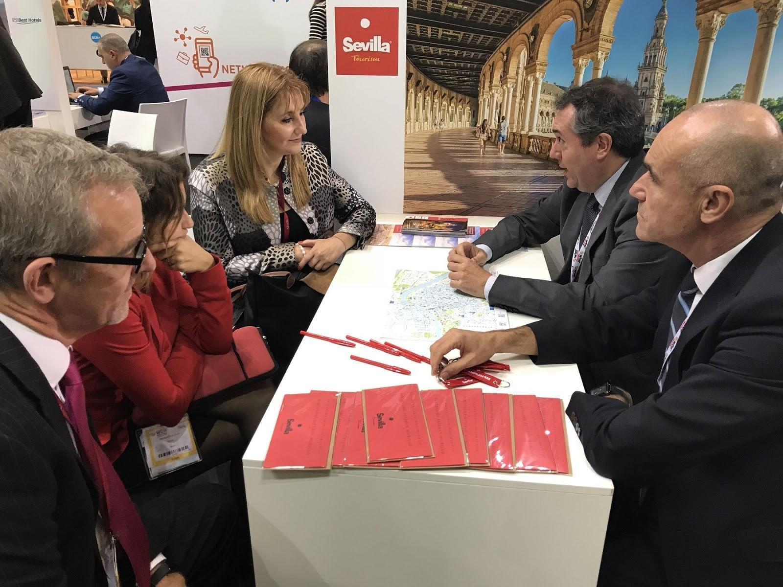Gelán Noticias: Sevilla cierra en la Feria de World Travel Market de ...