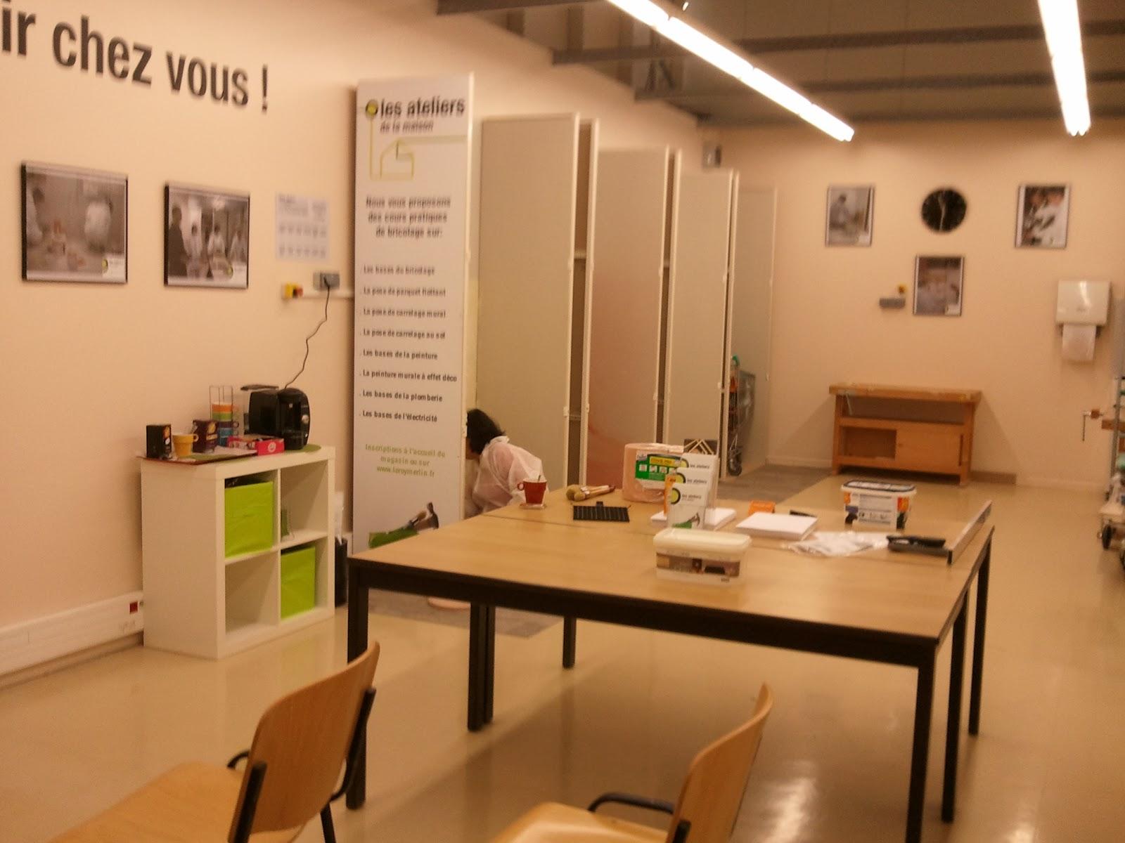Cours De Bricolage Admt Peinture à Effets Leroy Merlin Massy