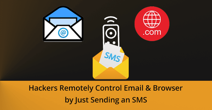 SMS phishing attack  - SMS 2Bphishing 2Battack - SMS phishing attack – Hackers Remotely Control Email & Browser via SMS