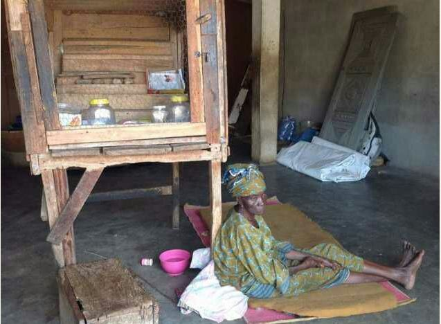 See The Amazing Before & After Photos Of Rashidi Yekini's Mother's House After Saraki's Rehabilitation