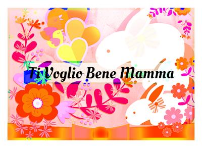 Cartolina a colori da stampare per la Mamma