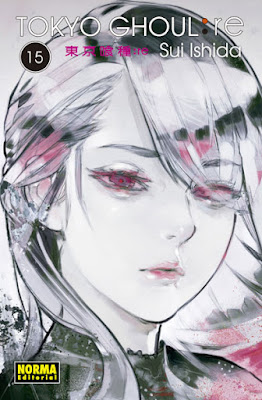 "Reseña de ""Tokyo Ghoul: re"" (东京食尸鬼:re) vols. 15 y 16 de Sui Ishida - Norma Editorial"
