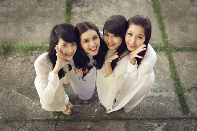 Chicas adolescentes Vietnamitas