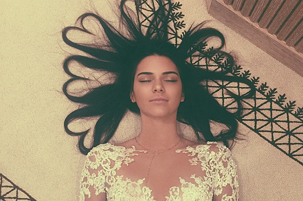 Queen Instagram: Photo Kendall Jenner broke the record the image of Kim and Kanye