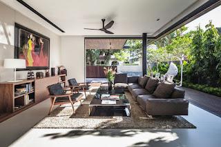 Model Living Room Modern Minimalist Home