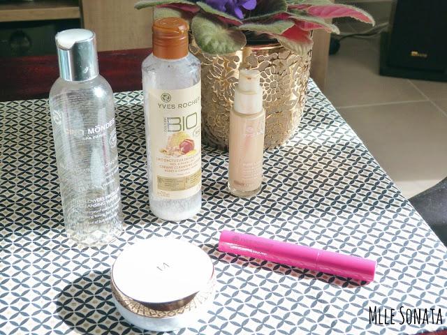 5 produits terminés make-up