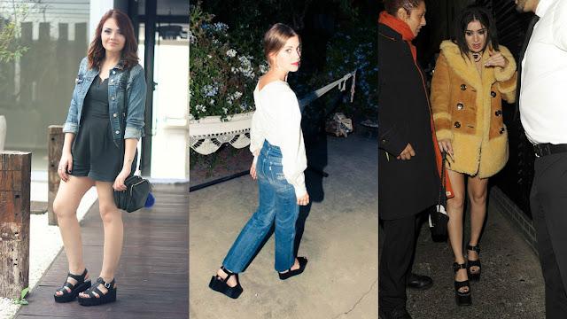 Moda: Sapato Plataforma