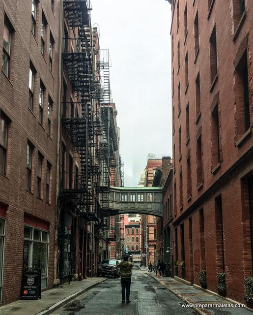 ruta por tribeca nueva york