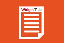 Merubah Warna Kata Pertama Title Sidebar