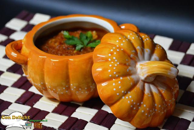 Tomato & rice soup