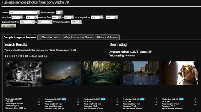Hasil foto Sony A7R di PixelPeeper