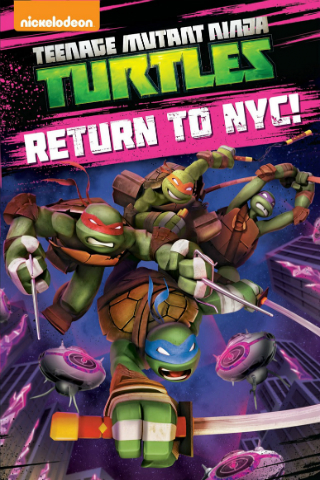Teenage Mutant Ninja Turtles: Return to NYC [2015] [DVDR] [NTSC] [Latino]
