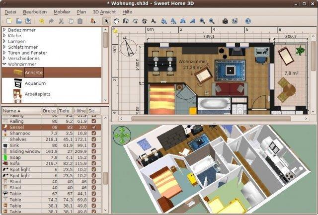 Software Desain Rumah - ( Sweet Home 3D )