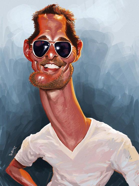 Matthew McConaughey por André Bethlem