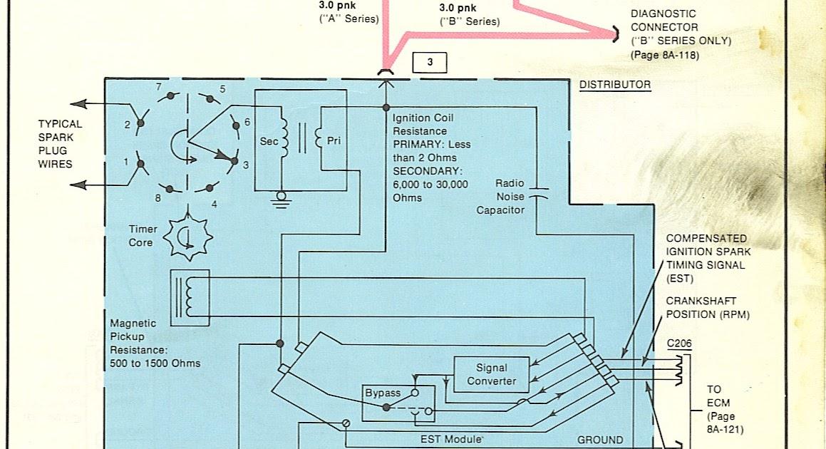 Free Auto Wiring Diagram: Chevrolet Malibu V8 Ignition