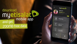 See How To Get Free 200MB On Your Etisalat Sim