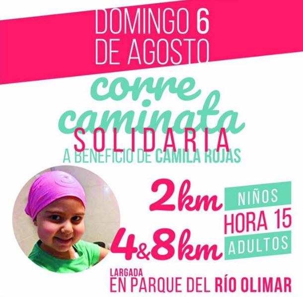 8k 4k y 2k Correcaminata Todos por Camila Rojas en Treinta y tres (Río Olimar, 06/ago/2017)