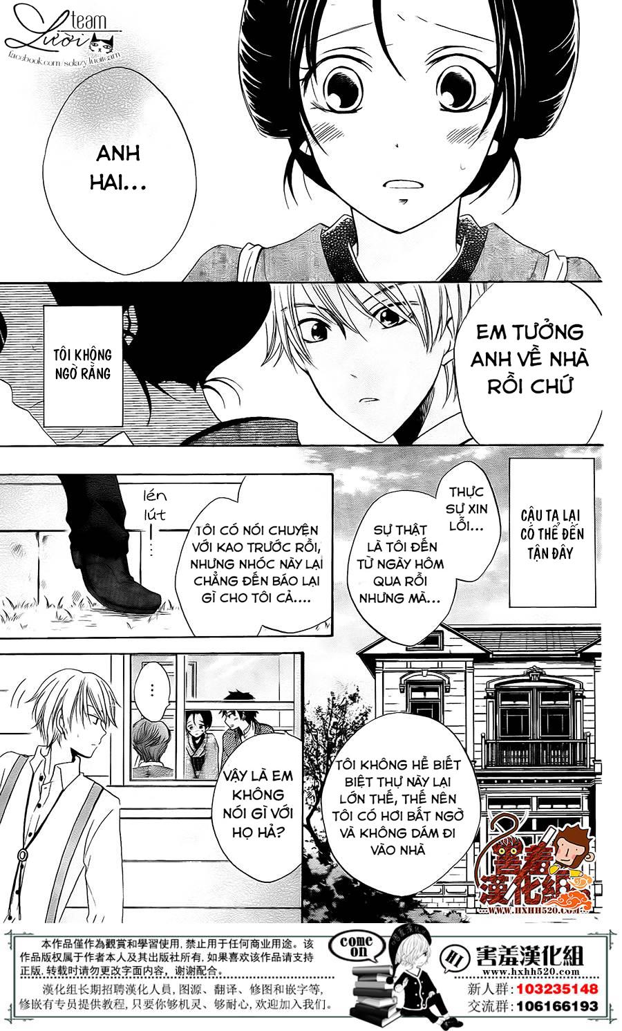 Haikei Mayumi-sama chap 3 - Trang 10