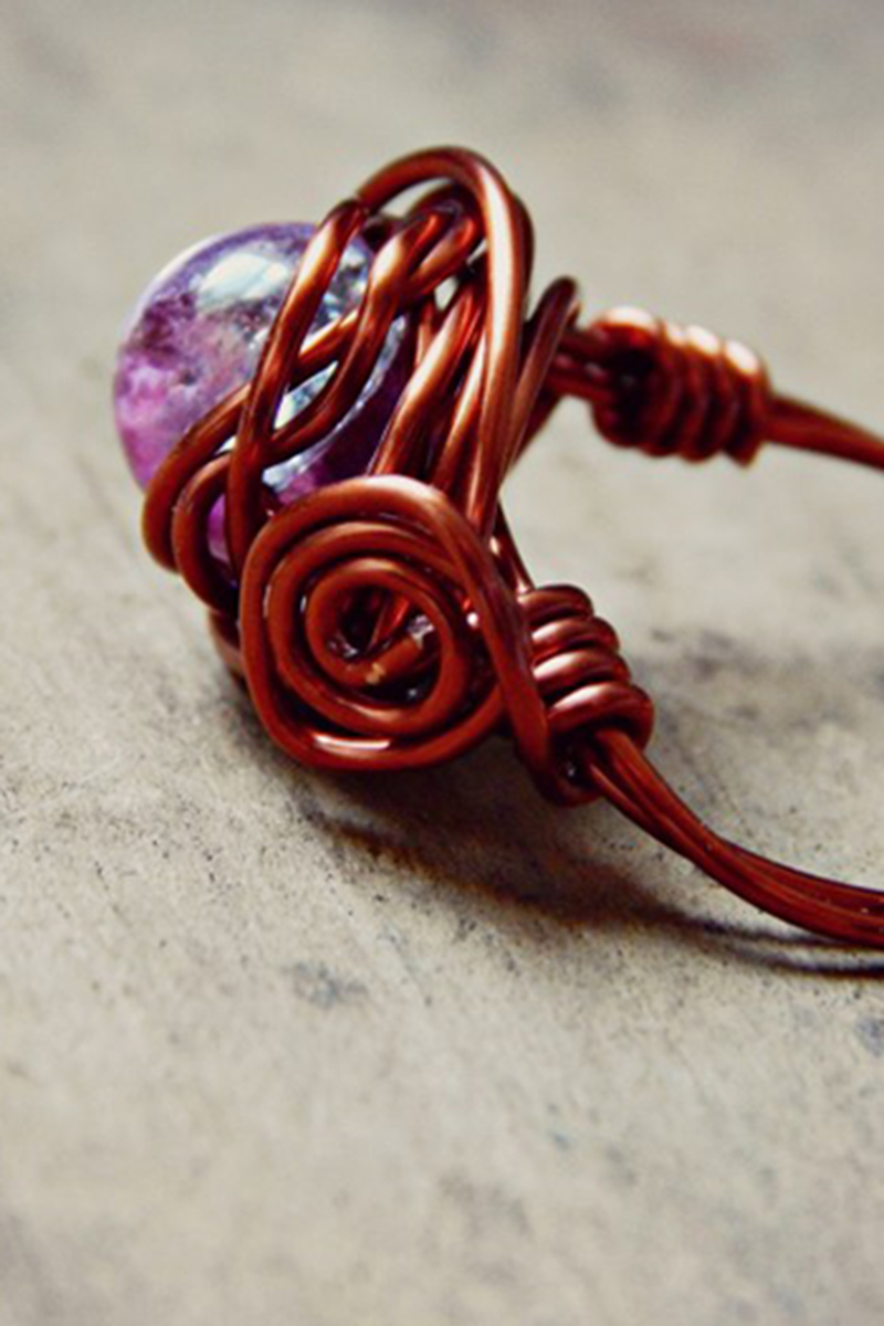 5 ways to make wire wrapped rings