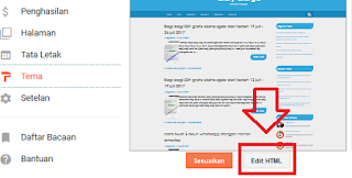 edit template blogger