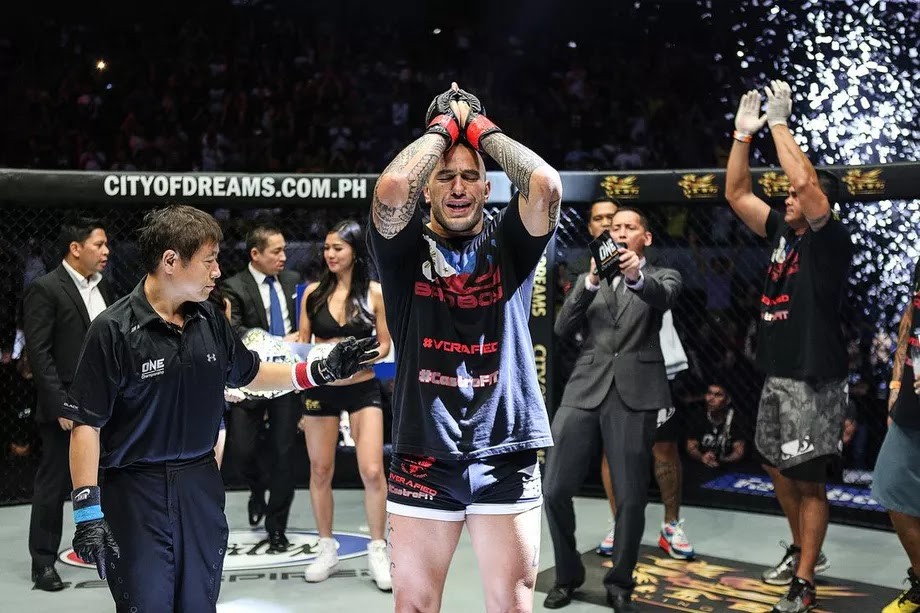 Brandon Vera's BRUTAL 1st Round KO of Mauro Cerilli (VIDEO) ONE Championship