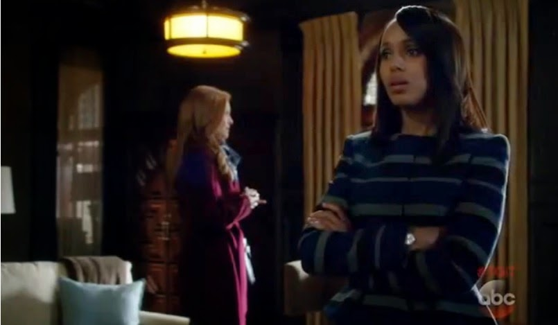 Scandal 4x16 It's Good to Be Kink Olivia Abby