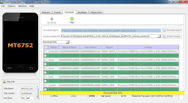 Cara Mengatasi Bootloop Android Lenovo A7000 dengan Flashing