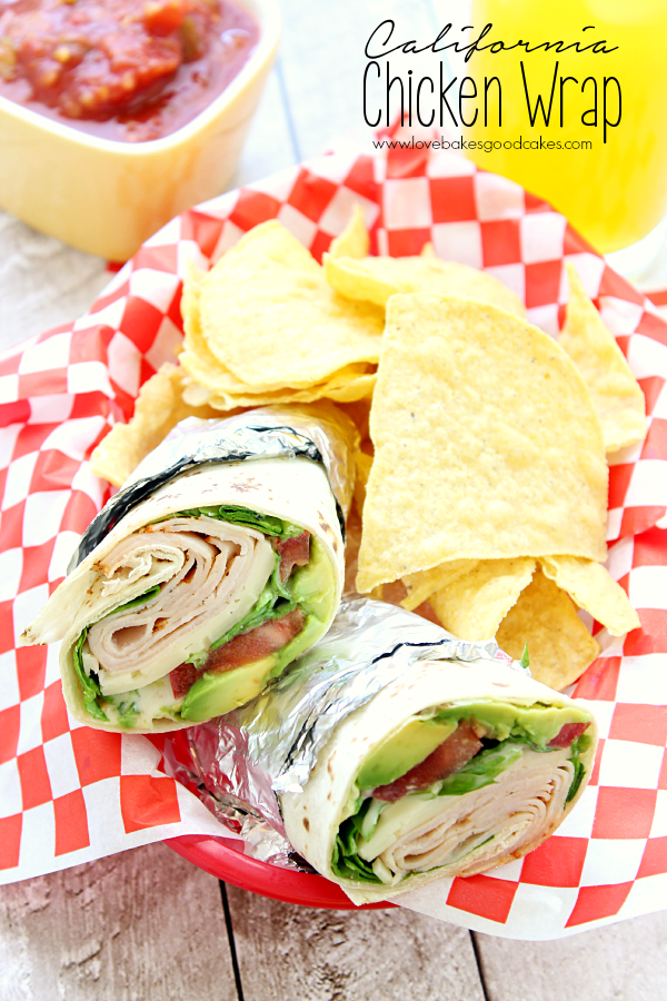 Spicy Chipotle Chicken Wraps EatHealthy15  Love Bakes Good Cakes